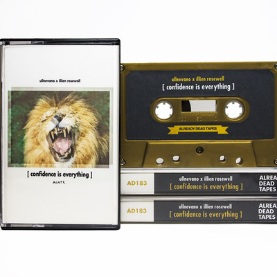 Ullnevano x illien rosewell 'confidence is everything' cassette (ad183)
