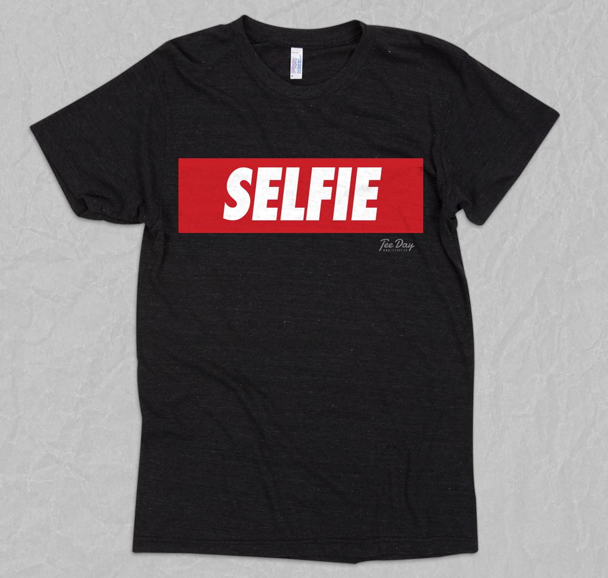 SELFIE - Sarcastic Funny T-shirts - Unique Pop Culture T-shirt ...