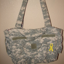 Large Military ACU Tote bag