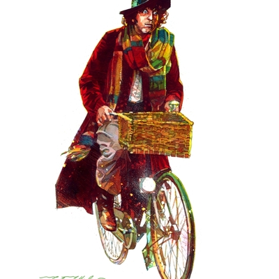 Bicycle who giclee print