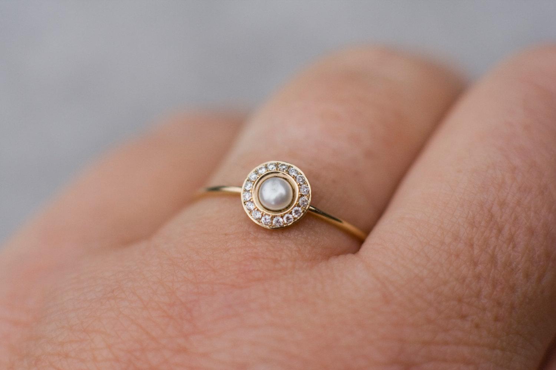 Tiny Heart Gold Rings Pinterest
