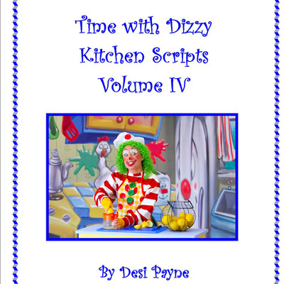 Time with dizzy script book volume iv (cooking segments)