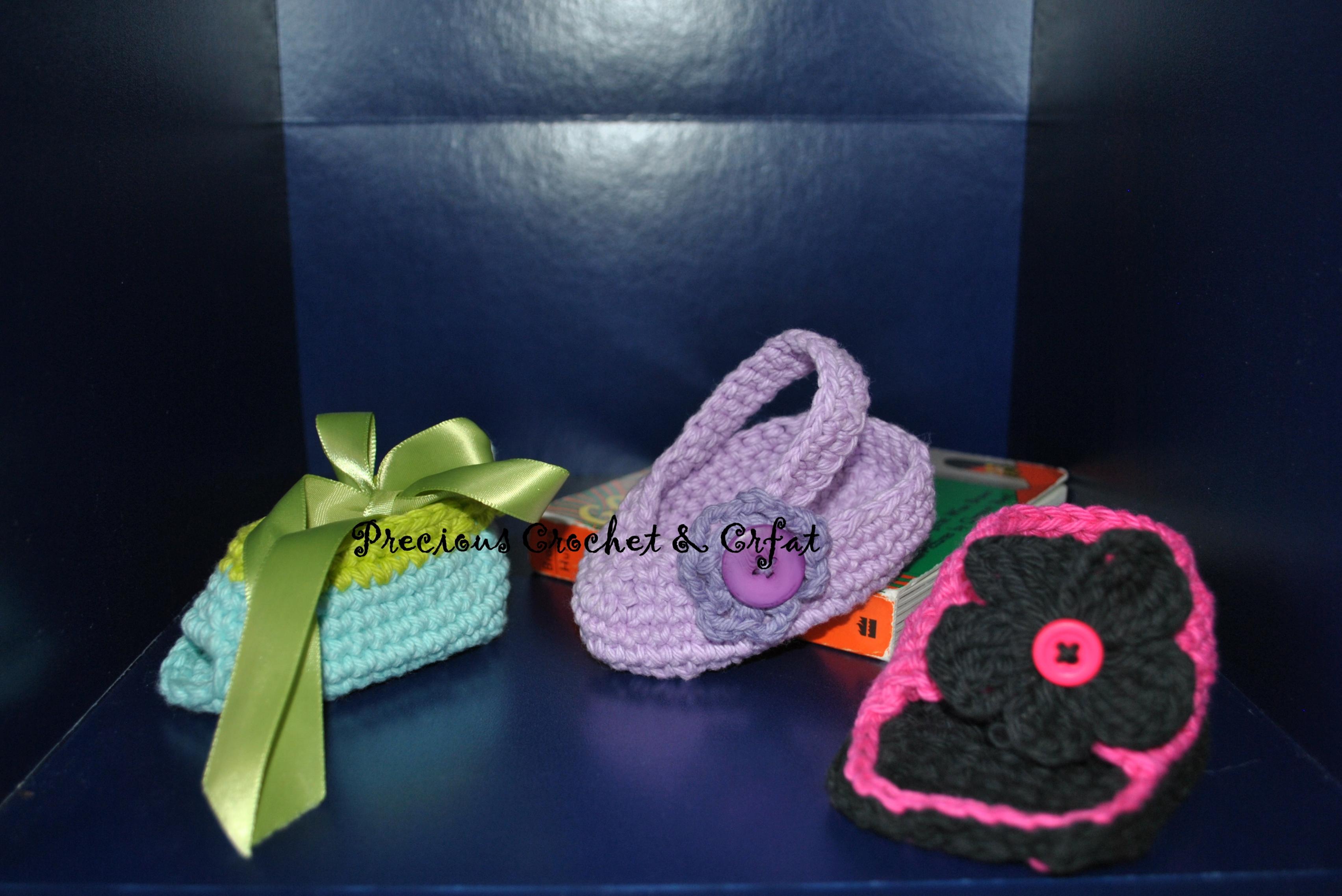 Your babies Shoes Rack · My Precious Crochet · line