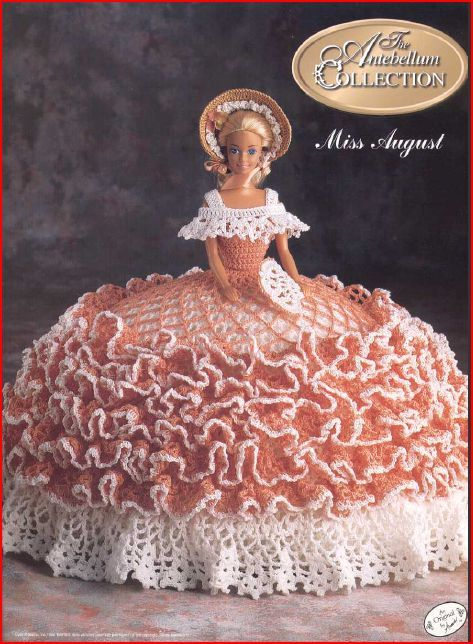 Antebellum Collection Miss August Bed Doll On Storenvy