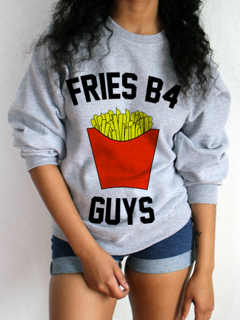 Gifts under 30 foodie shirt fries foodie christmas gifts