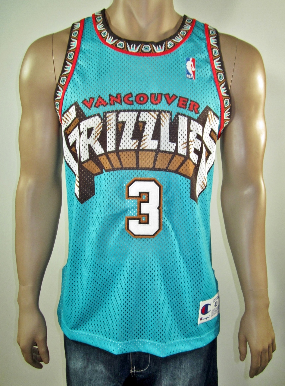 ef Abdur Rahim Vancouver Grizzlies Authentic Champion Jersey