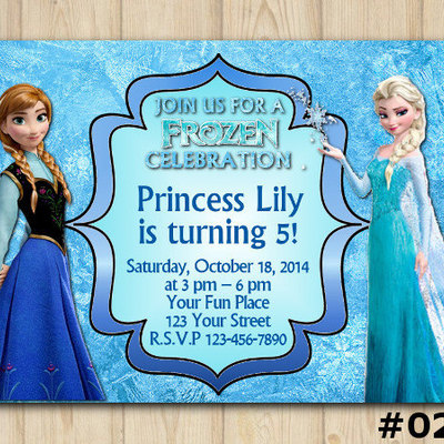 frozen invitations diy party printables online store powered by