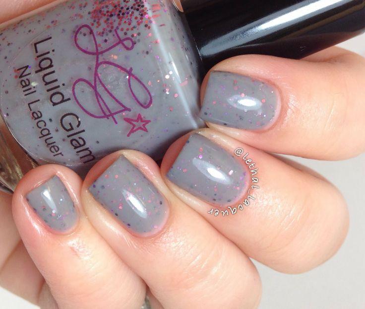 Liquid Glam \'Lovey Dovey\' Handmade Indie Nail Polish · Open Soul ...