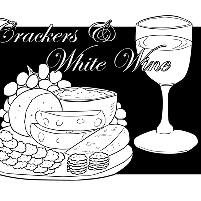 Crackers & white wine zine 1