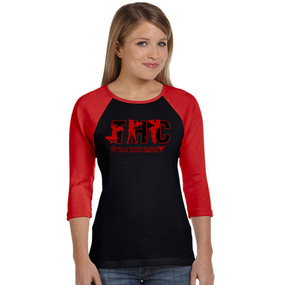 Devil girl's raglan shirt