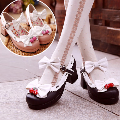 Strawberry Kawaii Shoes