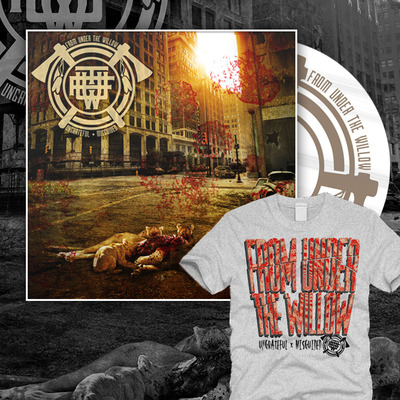 From under the willow - ungrateful • misguided shirt bundle 2