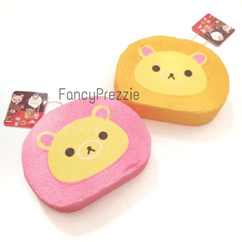 Jumbo Taiyaki Squishy : Jumbo Rilakkuma Cake Roll Squishy ? FancyPrezzie ? Online Store Powered by Storenvy