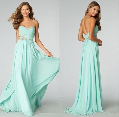Prom Dress,Prom DressCustom Made Prom Dress,Strapless Prom Dress ...