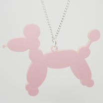 Balloon Poodle Necklace