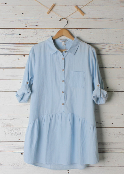 Grace Denim Tunic