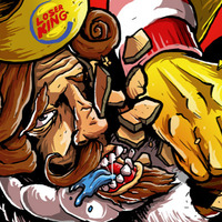 Fast Food Fighters T-Shirt - Thumbnail 1
