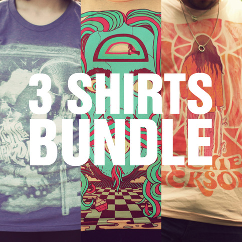 3 shirts BUNDLE