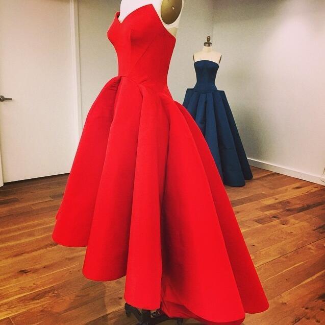 Vintage Red Prom Dresses