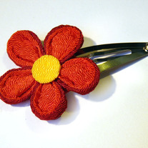 Five petal hair clip