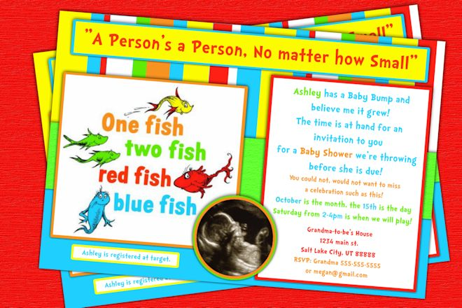 blank dr seuss baby shower invitations one fish dr seuss baby shower