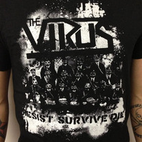 The Virus - Resist Survive Die Shirt medium photo