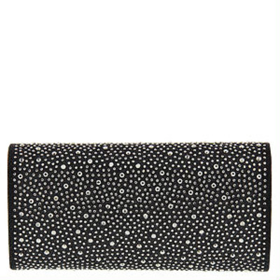 Jolene evening bag (black) by melie bianco