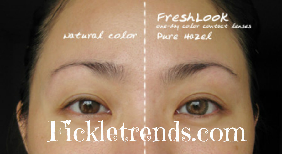 pure hazel freshlook colored contact lenses thumbnail 1 - Freshlook Colors Violet