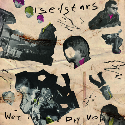 "Bedstars ""wet hearts & dry vomit"" cd"