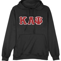 Big & Tall Kappa Alpha Psi Hooded Pullover Sweatshirt BLK