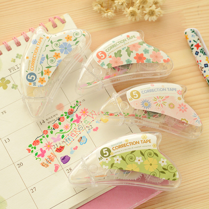 Floral Decorative Correction Tape - FREE SHIPPING Floral Design ...