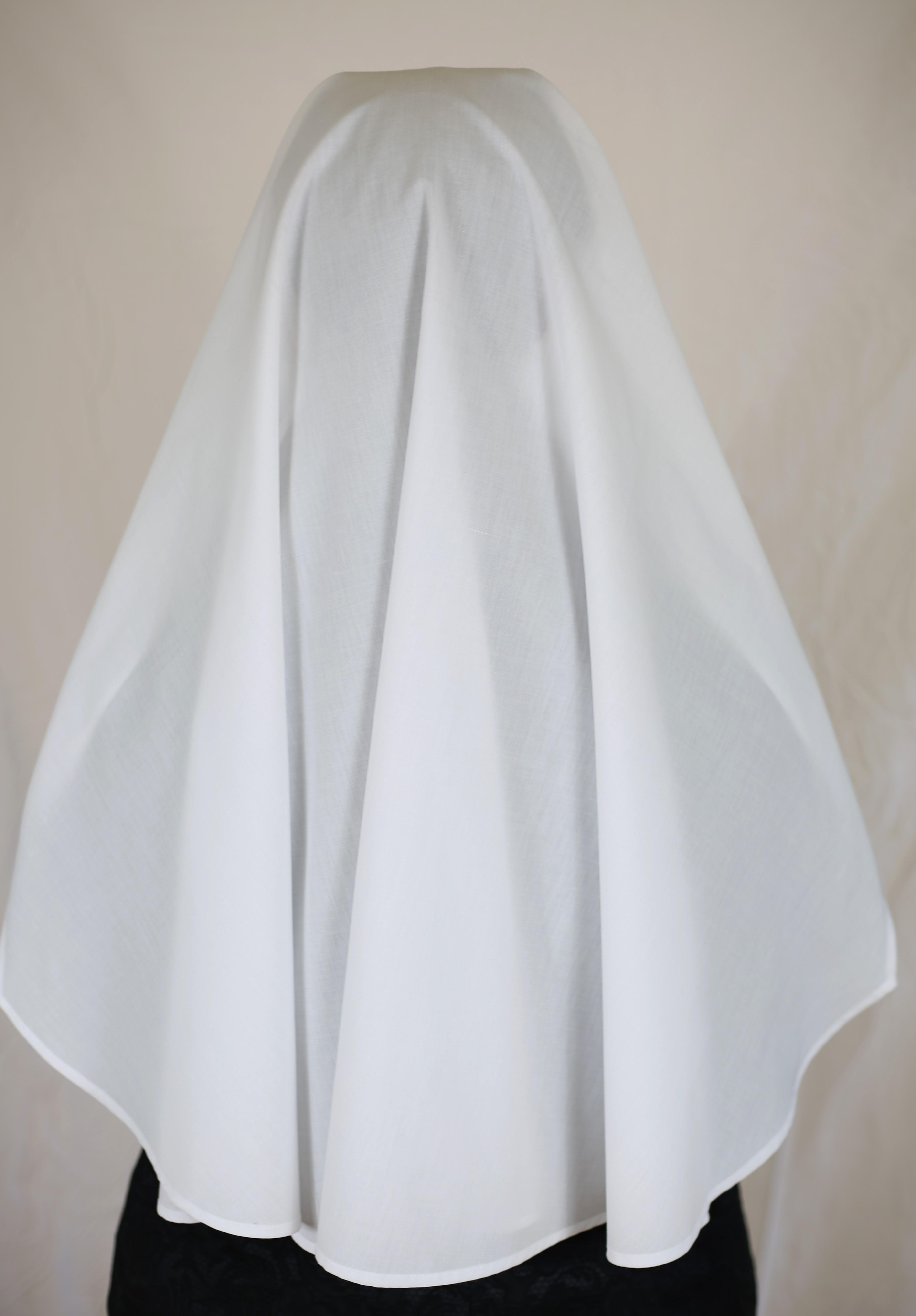 White Nun Dress