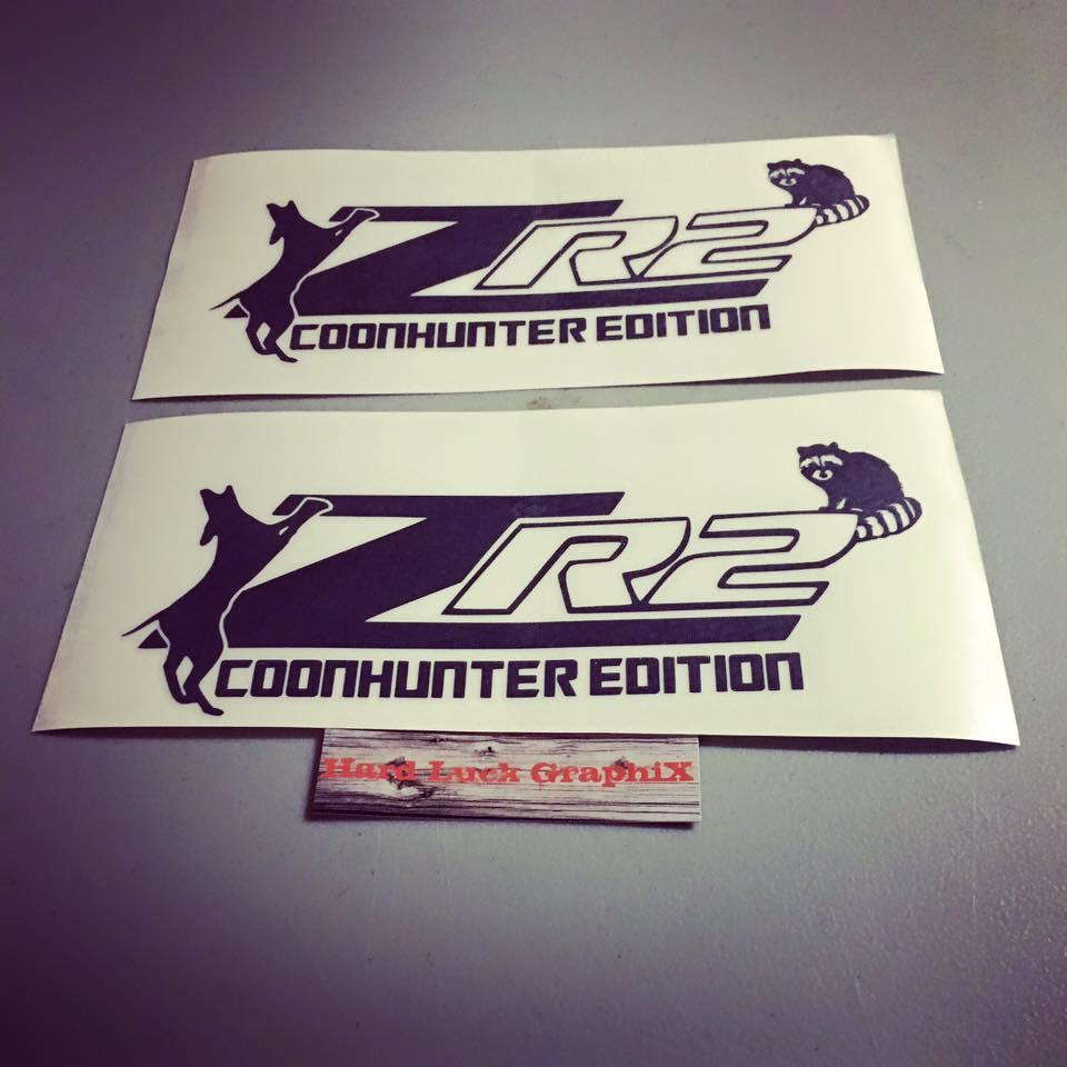Zr2 coon hunter edition decals