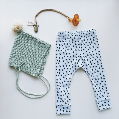 Baby leggings - small brush stroke
