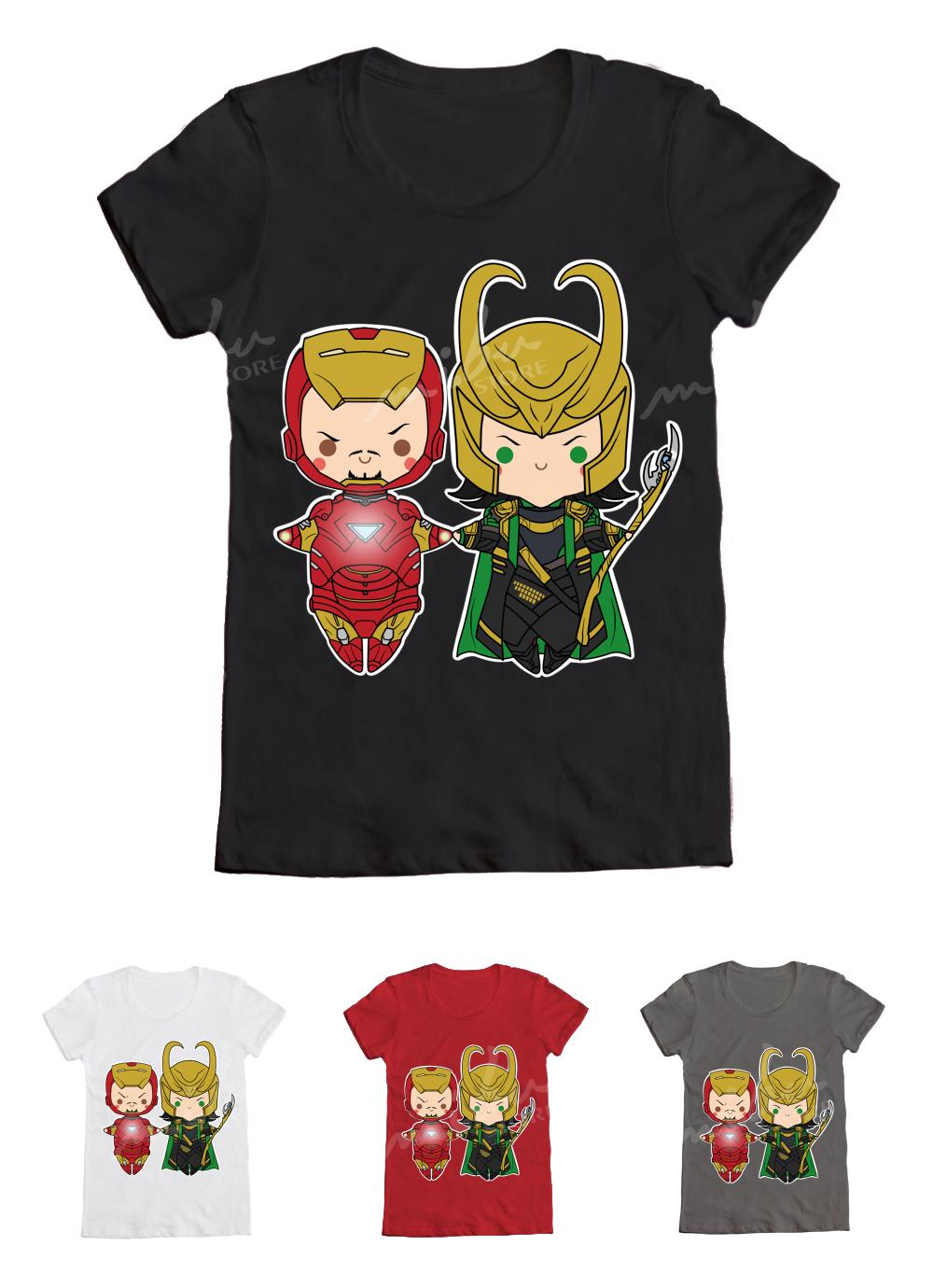 Black sabbath t shirt avengers - The Avengers Ironman Loki Ironfrost T Shirt