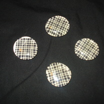 Magnet Set - Black Plaid