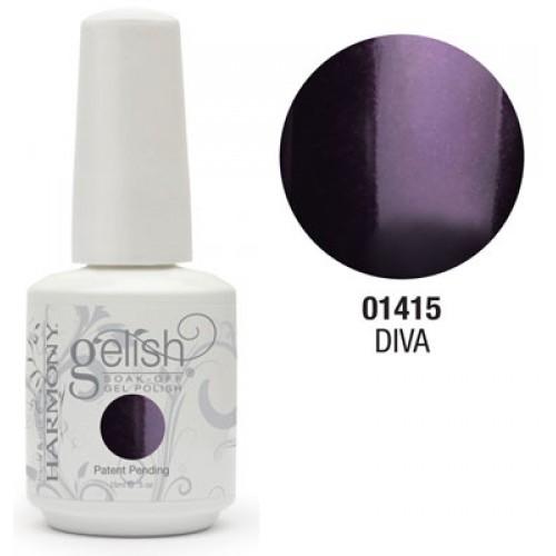 Gelish polish- diva