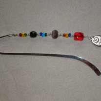 Beaded Bookmark Multicolor/Love Much/Laugh Often