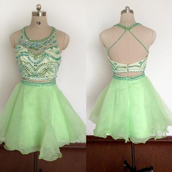 Newest Homecoming Dress,Spaghetti Straps Homecoming Dress, Short ...