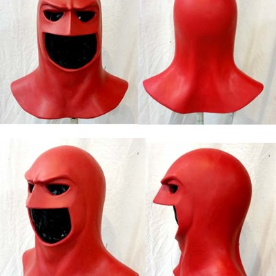 generic cowl space ghost style urethane jester fx studios online store powered by storenvy - Space Ghost Halloween Costume