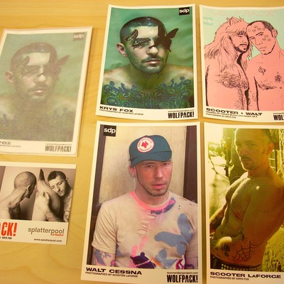 Sdp wolfpack! trading cards [pack 2]