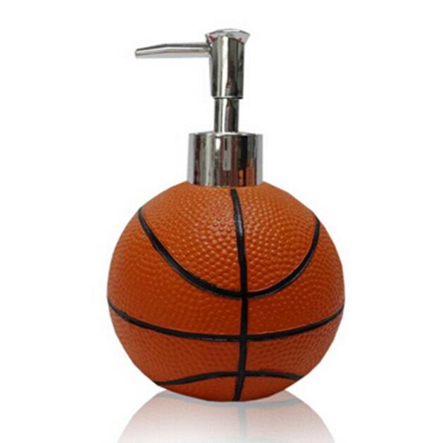 Superieur YOURNELO Basketball 5 Piece Bathroom Accessories Collection Set   Thumbnail  1 ...