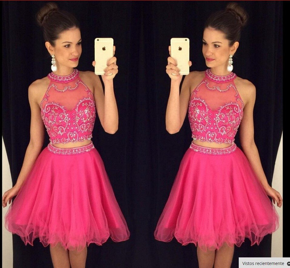 Charming Short Beading Homecoming Dress,Pretty Cocktail Dresses,2 ...