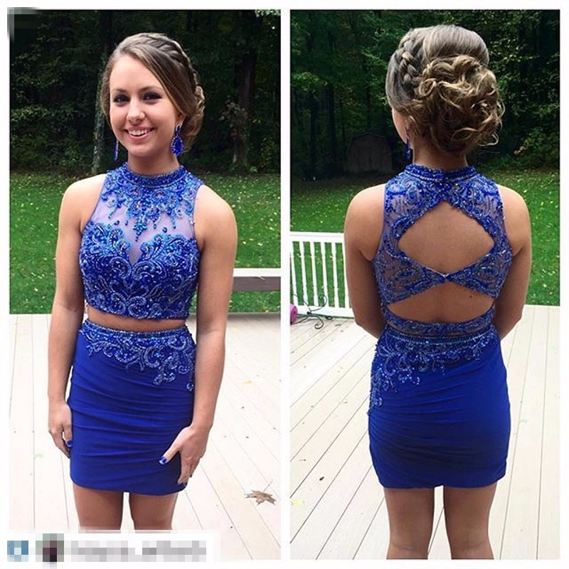 Two Piece Sweet 16 Dresses
