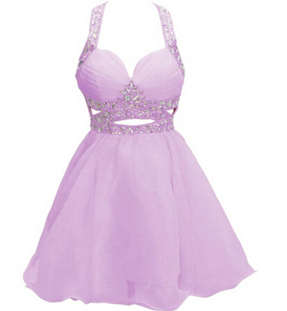 Solo Dress Pearl Pink Homecoming Dress,Backless Homecoming Dresses ...