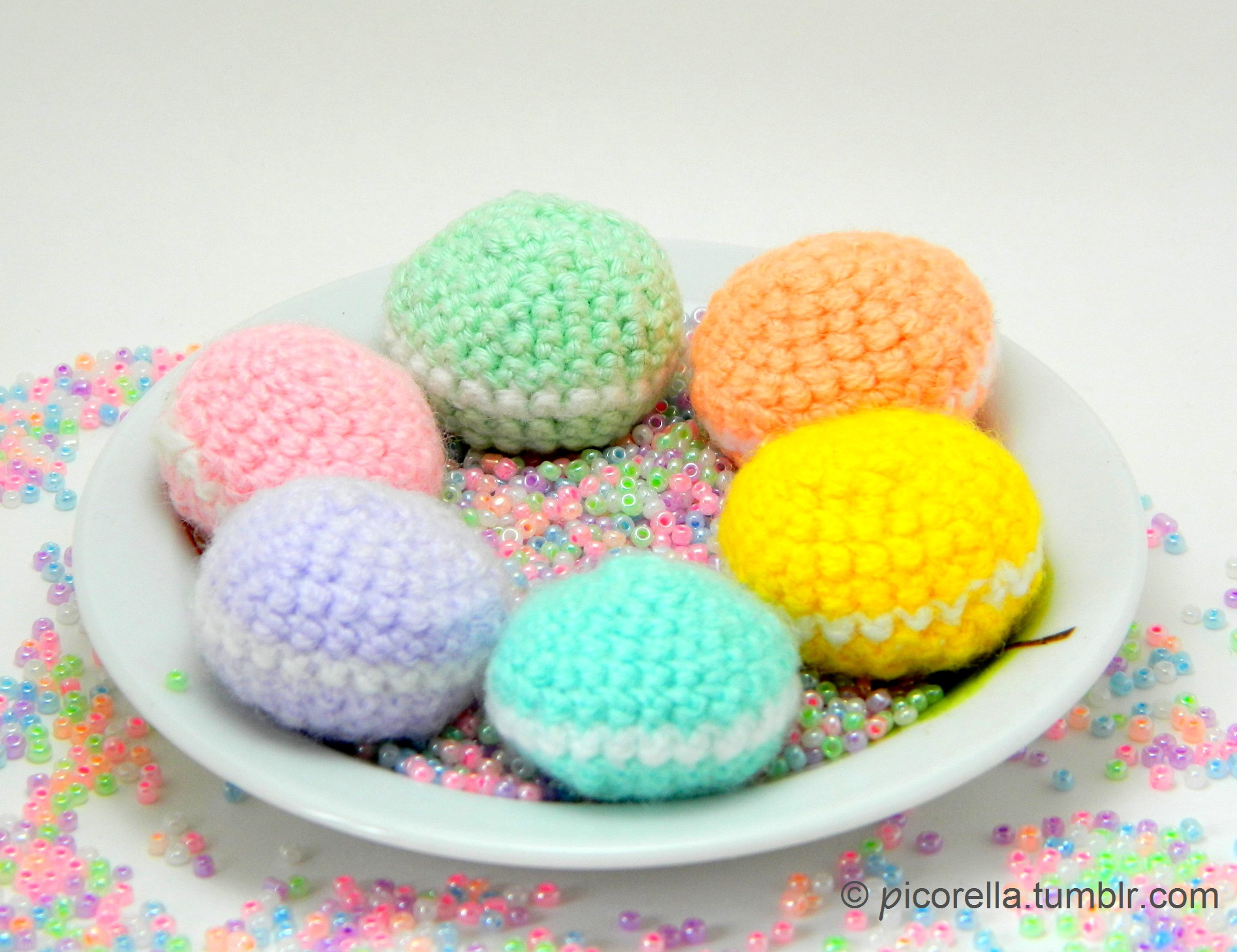Amigurumi Patterns Tumblr : Pdf amigurumi macaroon pattern crochet macaroon pattern