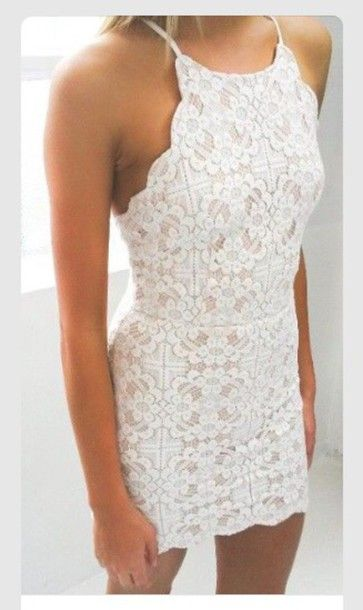 Prom Dress,white Prom Dress,Short Homecoming Dress,Lace Homecoming ...