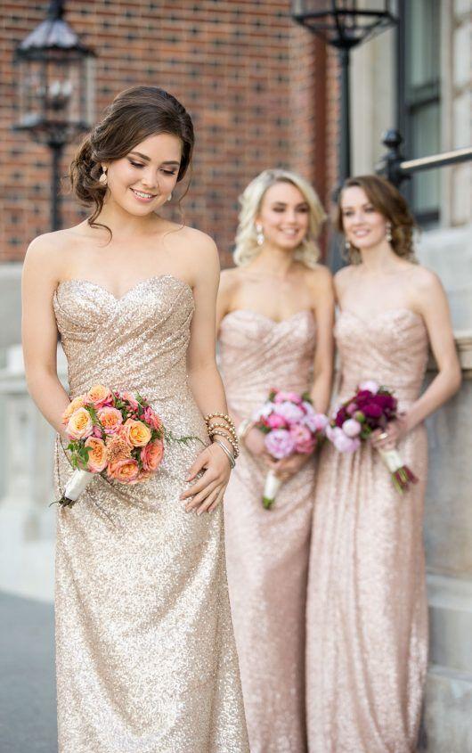 355a6d30a8e Sequin bridesmaid dresses