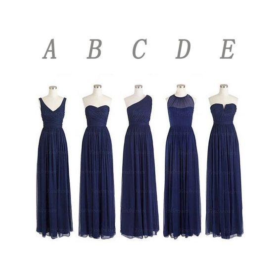 Sleveless bridesmaid dress,Convertible bridesmaid dress,floor length ...