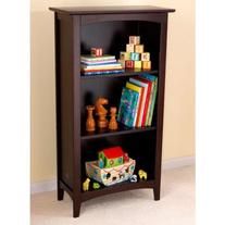 Avalon Three-Shelf Bookcase